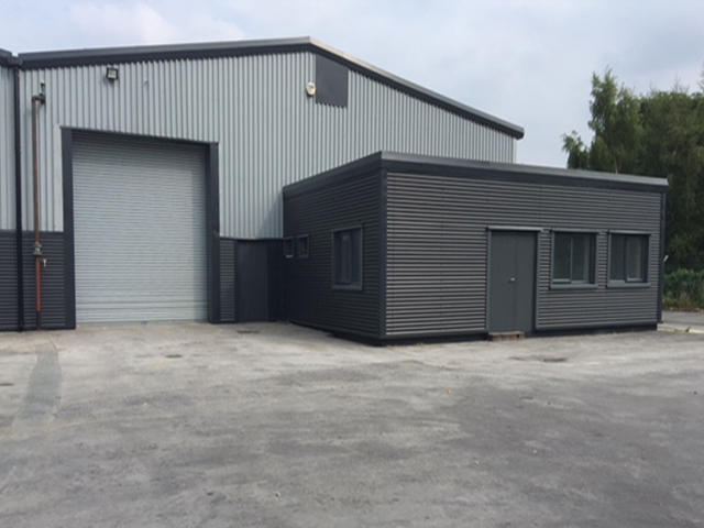 Warehousing manufacturing units and offices to let Hazel Grove